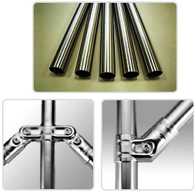 Connect-A-tube Stainless Steel Pipes