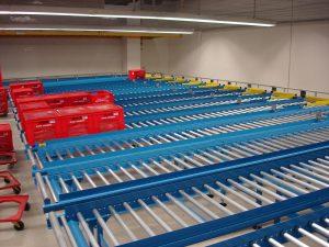 Gravity Roller Conveyor system Northern Ireland