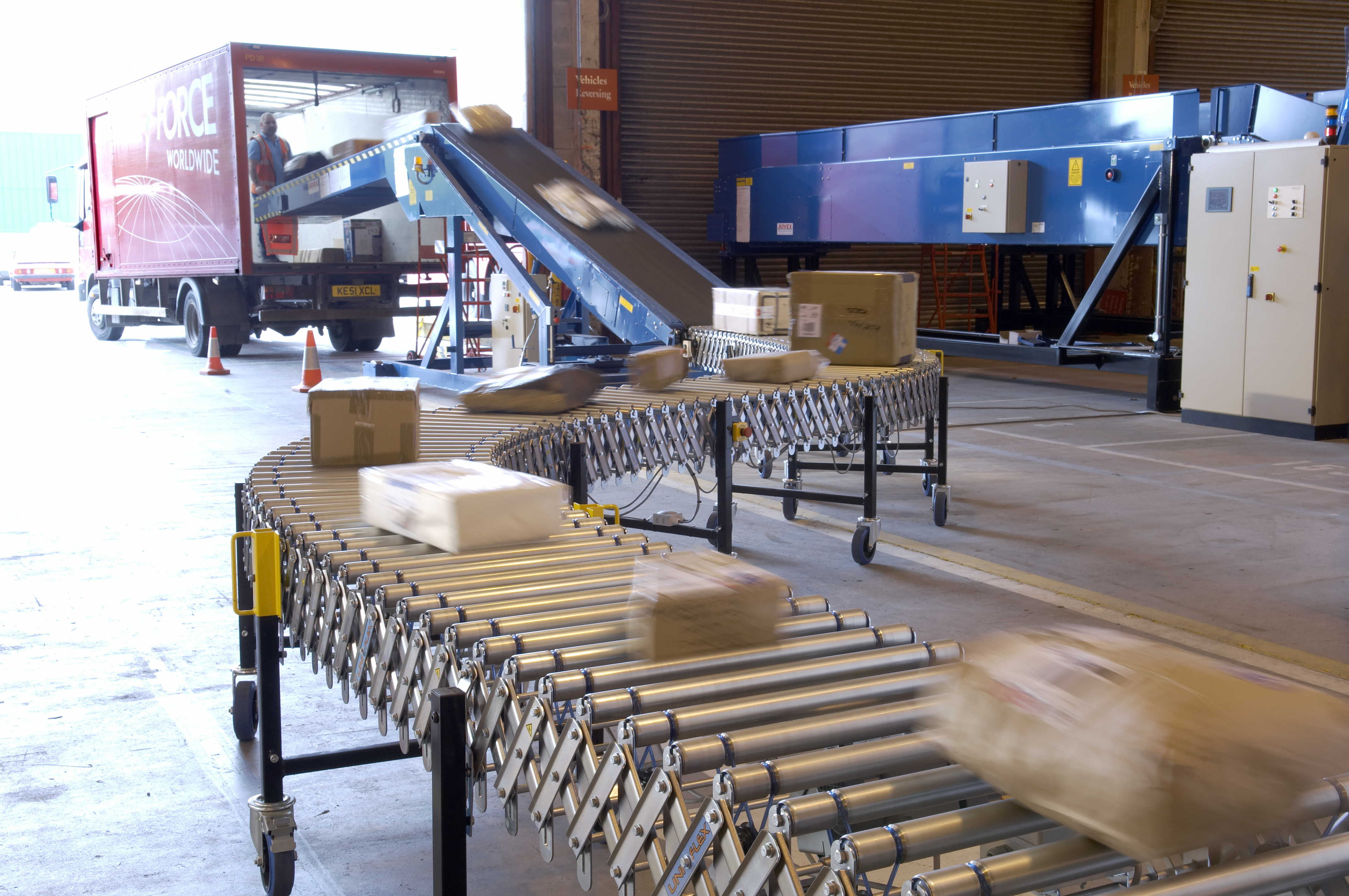 Flexible Conveyors - Northern Ireland Manufactuter of Conveyor