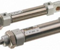 SMC Double Acting Pneumatic Cylinder