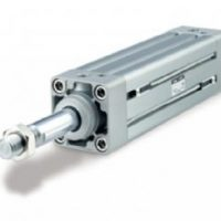 SMC Double Acting Pneumatic Profile Cylinder