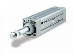 SMC Double Acting Pneumatic Profile Cylinder