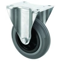 160mm Fixed Plate Fixing Castor