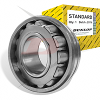 DUNLOP tapered roller bearings are separable radial bearings, they consist of the inner ring with roller and cage assembly, (cone) and a loose outer ring (cup)