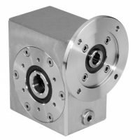 Clean-Geartech Stainless Steel Worm Gearbox - I45