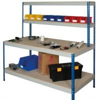 Full Undershelf Rivet Workstation